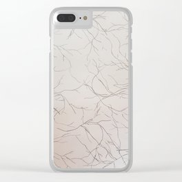 Blood Vessels Clear iPhone Case
