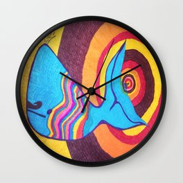 Bruce The Whale Wall Clock