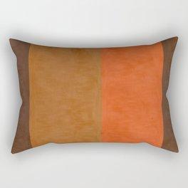 Shades of Brown Rectangular Pillow