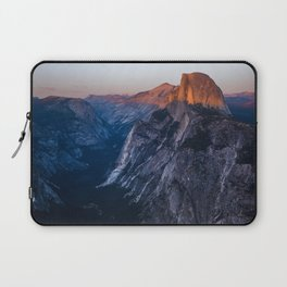 Sunkissed Half Dome at Sunset Laptop Sleeve