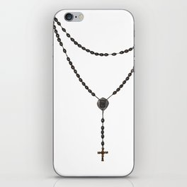 Wooden Rosary I iPhone Skin