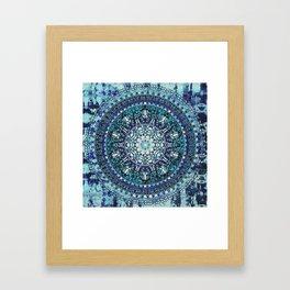 Monterey Mandala Framed Art Print