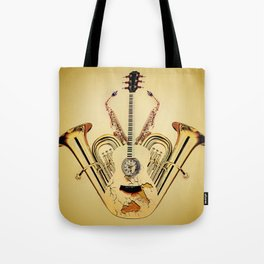 Orchestrate Tote Bag