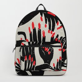 hands, fingers, nails & fingernails Backpack