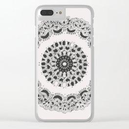 Grandma's Doily II Clear iPhone Case