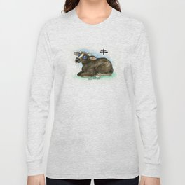 Chinese Zodiac Year of the Ox Long Sleeve T-shirt