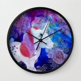 g1 my little pony Moondancer Wall Clock