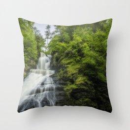 Dingmans Falls II Throw Pillow