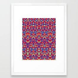 Damask Framed Art Print