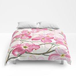 Pink Dogwood Comforters