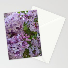 Lilac ~ Periwinkle Stationery Cards