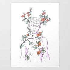 Pretty Boy 5 Art Print