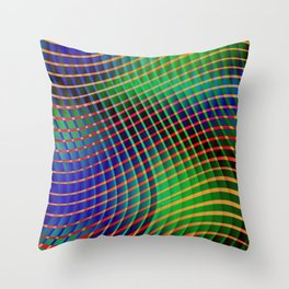 """Blessed are the eyes"" Throw Pillow"