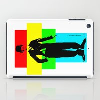 charlie chaplin iPad Cases featuring Charlie Chaplin by Silvio Ledbetter