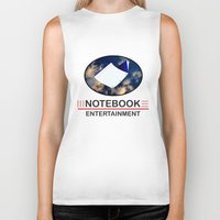 notebook Biker Tanks featuring Notebook Entertainment by NotebookFilms