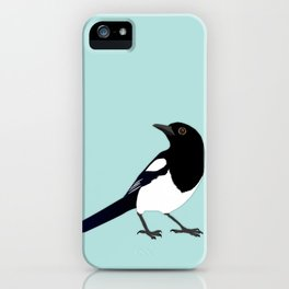 Magpie vector iPhone Case