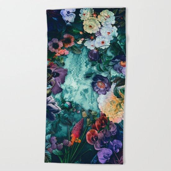 Dream garden Beach Towel