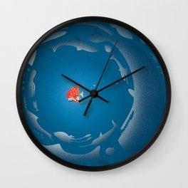 GAGarlic 4 Wall Clock