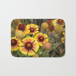Blanket Flowers Bath Mat