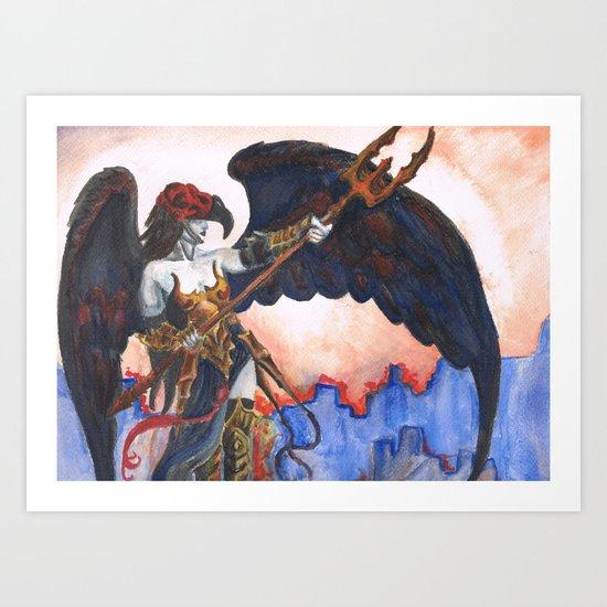 Avenging Angel Art Print