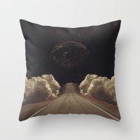 jasmine Throw Pillows featuring 'Jasmine' by Thom Easton