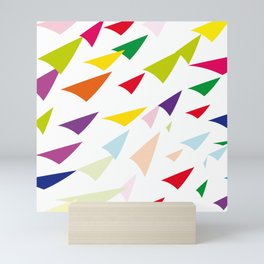 colored arrows Mini Art Print