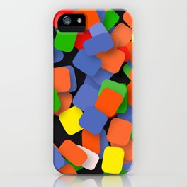 wild color pieces iPhone Case