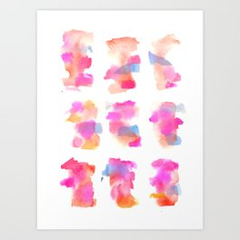 160122 Summer Sydney 2015-16 Watercolor #42 Art Print