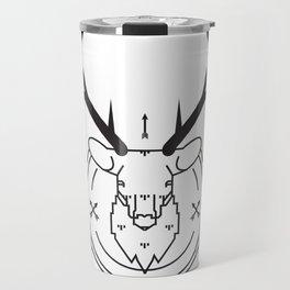 Hunters head Travel Mug