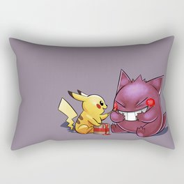 Spooky Cheeks Rectangular Pillow