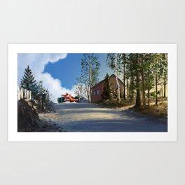 Finnish Grand Prix Art Print
