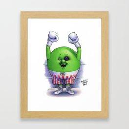 Black-Eyed Pea Framed Art Print