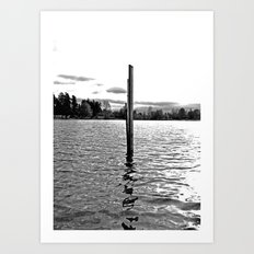Scenic solitude Art Print