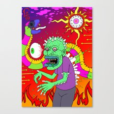 Hero-In Canvas Print