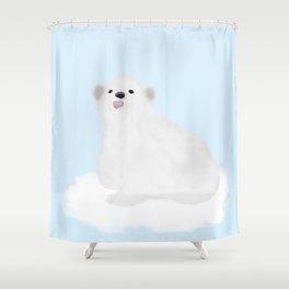 pooky bear Shower Curtain