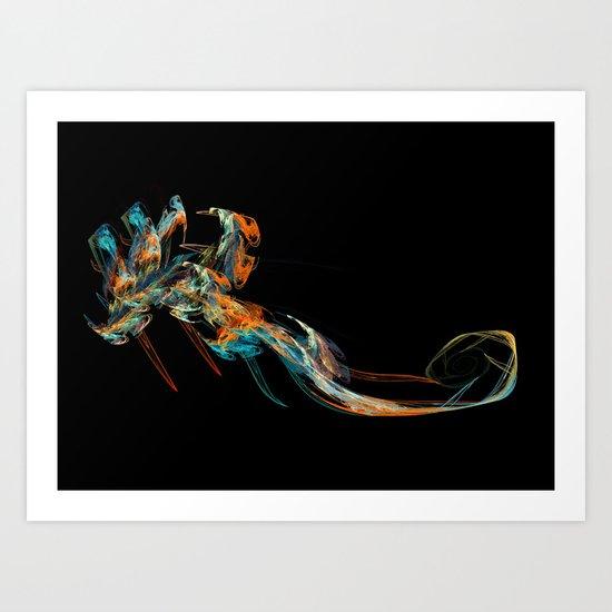 Deep Sea; the Visitor Art Print