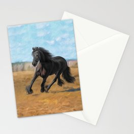 Drawing horse Stationery Cards