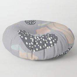 Modern Abstract Terrazzo  Floor Pillow