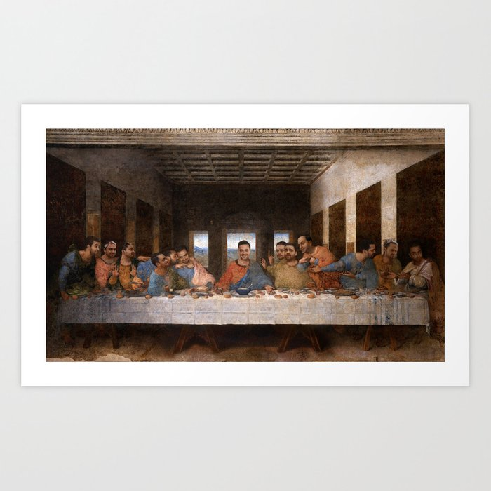 The Conner Supper Art Print