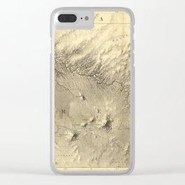 Rio Colorado Of The West 1858 Clear iPhone Case