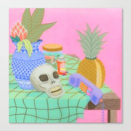 Still Life With Pineapple Canvas Print