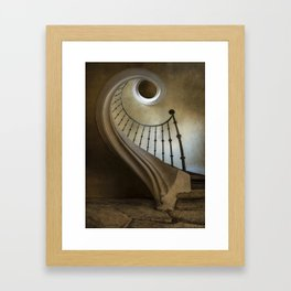 When laying on the floor Framed Art Print