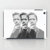 ryan gosling iPad Cases featuring Ryan Gosling by Harry Martin