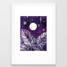 balancing energies Framed Art Print