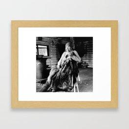 KOKOM LENA Framed Art Print