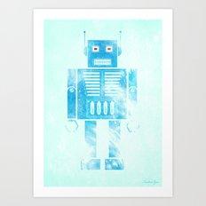Robophobia Art Print