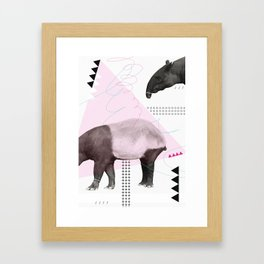 tapirism one Framed Art Print