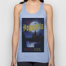 Welcome to Hogwarts Unisex Tank Top