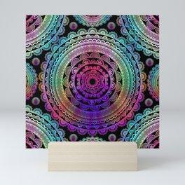 Zen Mantra Mandala Mini Art Print