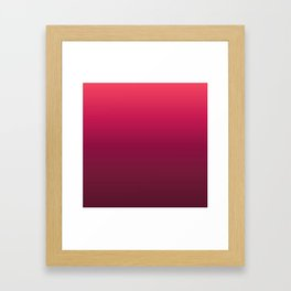 Minimal Gradient #2 Framed Art Print